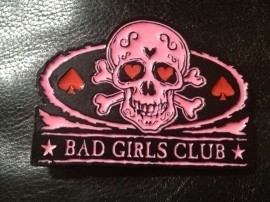 Belt Buckle - Bad Girls Club - Black/PINK