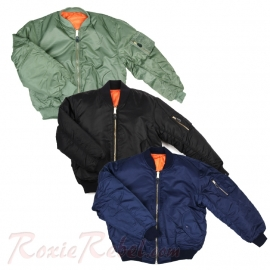 MA-I Flight Jacket - Bomber - Three Colours