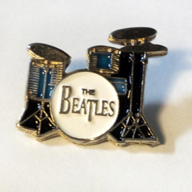 P247 - PIN - The Beatles - Drums - Pete Best & Ringo Starr