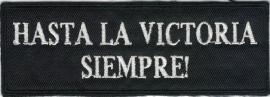 015 - PATCH - vintage - CHE - Hasta La Victoria Siempre!