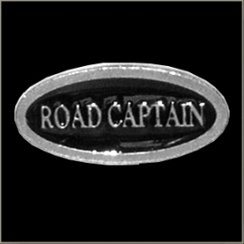 P181 - PIN - Metal Badge - Road Captain