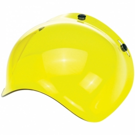 Biltwell INC - Bubble YELLOW Jet Visor