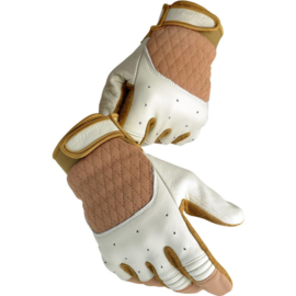 Biltwell INC - Bantam Gloves - White / Tan