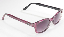 Original KD's - Sunglasses - PURPLE PEARL Frame & Grey Gradient Lens