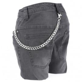 Rock Daddy - Silver Wallet Chain - Heavy