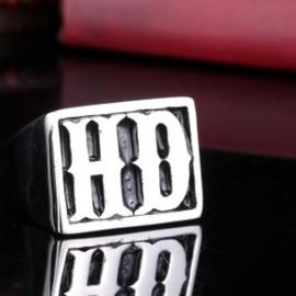 HD - Biker Ring - Stainless