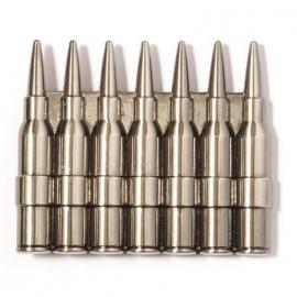 Seven Rifle Bullets BUCKLE [B159]
