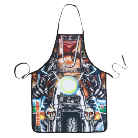 Cooking Kitchen Motorcycle Man Sexy Apron Baking Present Pinafore Chef Funny - Apron