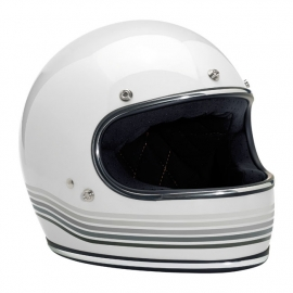 Biltwell INC - Gringo Full Face Helmet - DOT - Le Spectrum [Gloss White]