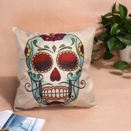 Pillow Case - Sugar / Candy Skull - Decoration
