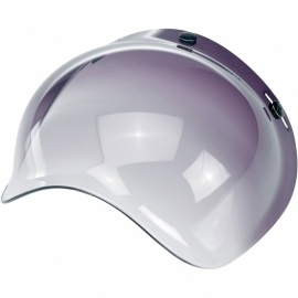 Biltwell INC - Bubble DARK GREY / SMOKE GRADIENT Jet Visor