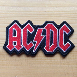 small PATCH - Band Logo - AC/DC - ACDC - AC-DC Lettres