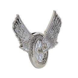 P117 - Small PIN - Winged Motorcyle Wheel