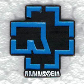 PIN - RAMMSTEIN - blue logo