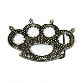 Knuckle Duster with Spikes BUCKLE [B118]