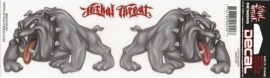 Lethal Threat - Couple of Bulldogs - DECAL - STICKER
