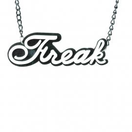 white Freak necklace