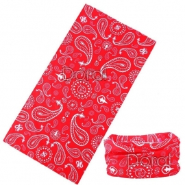 Tunnel / Tube Multi-Purpose - Red Paisley
