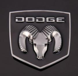 Dodge Belt Buckle - Dodge Ram - 3D - Metal / Black