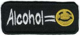 PATCH - Alcohol = Smiley