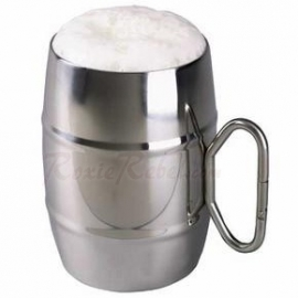 Stainless Steel Mug DeLuxe with Musketon - 101 INC