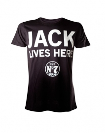Jack Daniel's - T-Shirt - Black - JACK Lives Here