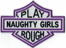 023 - PATCH - Bar & Shield - Naughty Girls Play Rough