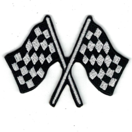 medium PATCH - RACING FLAGS