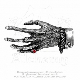 Alchemy England - BELT BUCKLE -Skeleton - Nosferatu's Hand
