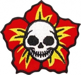 016 - WildCat PATCH - Skull Flower