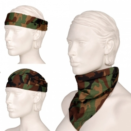 Woodland Bandana (3-in-1)