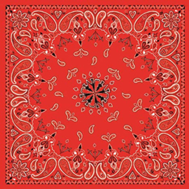 Original Bandana - Red Paisley