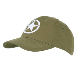 WWII - WW2 - Baseball Cap - BASEBALL CAP ALLIED STAR