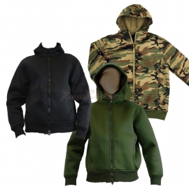 Hooded Jacket - Three Colours