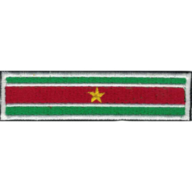 PATCH - STICK - SURINAM FLAG - Suriname