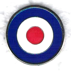 PIN - RAF - THE WHO - Bulls eye