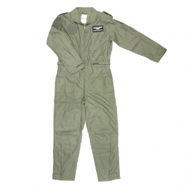 Flight Suit - Pilot Overall - Onesie - Green