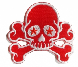 015 - WildCat PATCH - Red Skull & Bones