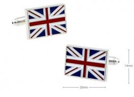 Cufflinks - United Kingdom - Union Jack