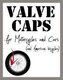 Valve Caps - Parabellum 9mm Brass - Originals