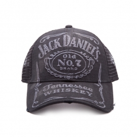 Jack Daniel's - Trucker Cap -Adjustable - Vintage - Original Big logo