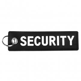 PVC Keychain - SECURITY