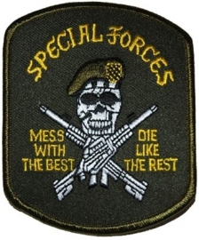PATCH - Special Forces : Mess With The Best, Die like The Rest
