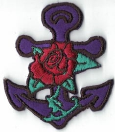 018 - PATCH - Anchor with Rose