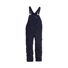 Dickies - Moneta Bib Overall - Dark Blue, White Striped 32/30