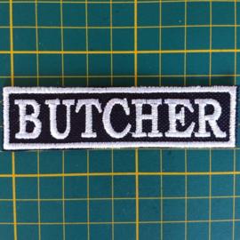 White PATCH - stick / flash  - BUTCHER
