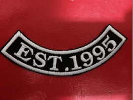 Custom Curved Patches (10 pieces) - Your Text!