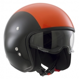 AGV & DIESEL - Hi-Jack Open Face Helmet - ECE -Orange/Black - XS only