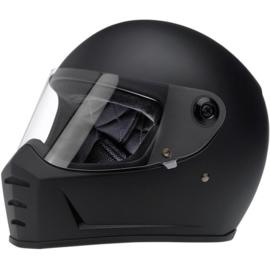 Biltwell - Lane Splitter Helmet - Flat Black (ECE)