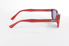 Original KD's - Sunglasses - FIRE - Red Frame & Red / Gold Lens